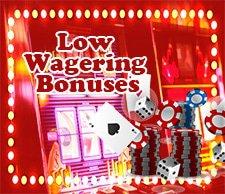 5staronlinecasino.com Low Wagering Bonuses